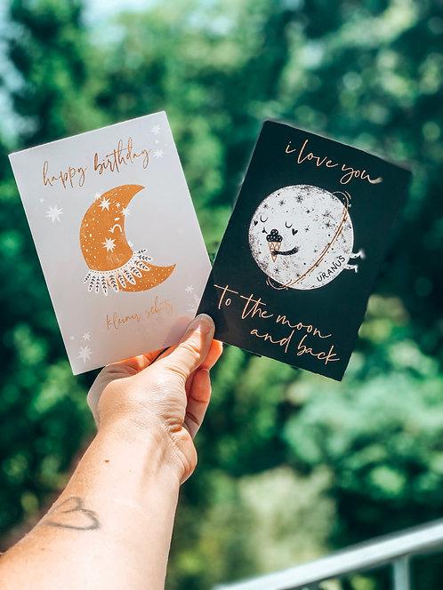 "Postkarten ""Mond"""