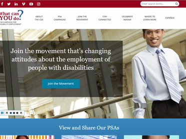 Campaign for Disability Employment Launches New Website