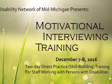 DNMM to Host Motivational Interviewing Training Seminar