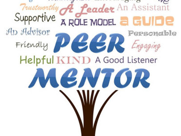 Be the Difference! Become a Peer Mentor!