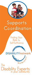 Supports Coordination brochure cover page