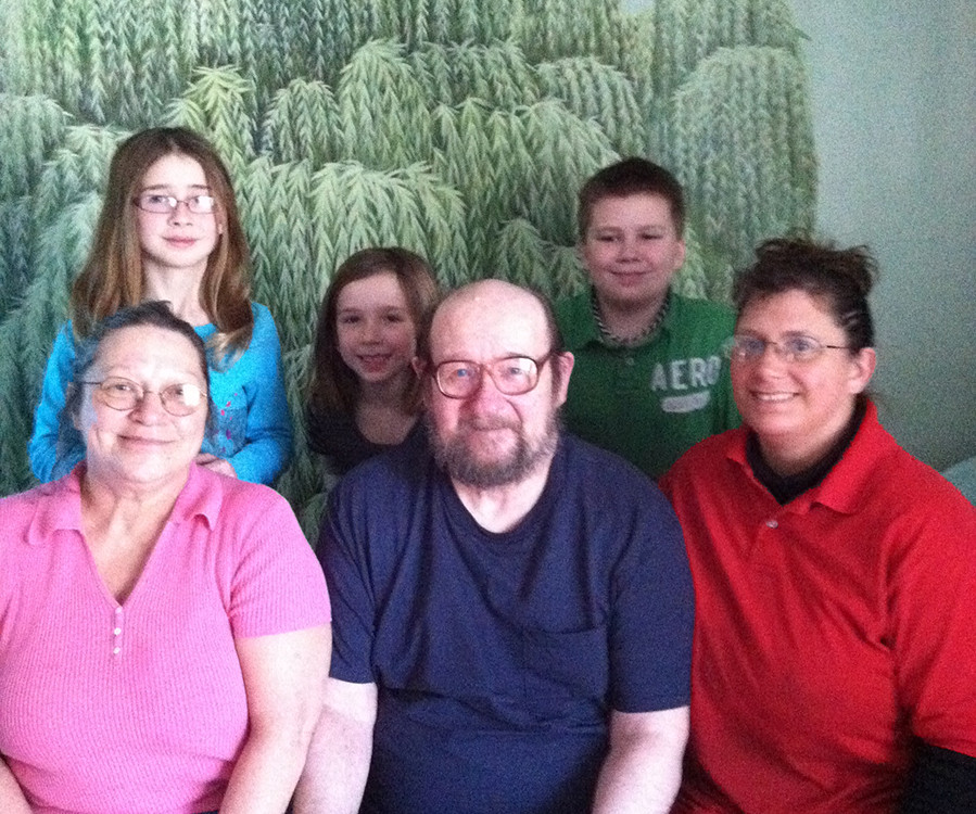 """man after transitioning out of hospital into community home with """"new"""" family"""