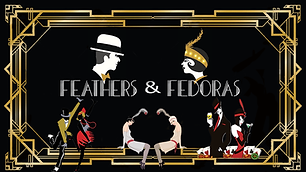 Feathers and Fedoras horizontal Flyer_ev