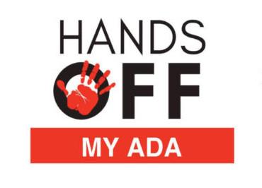 Hands off my ADA logo