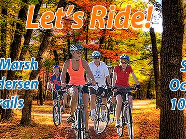 Let's Ride! A Tobico Marsh Color Tour.