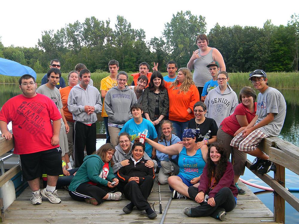 Students at Camp Fish Tales