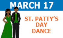march 17 st patricks day dance