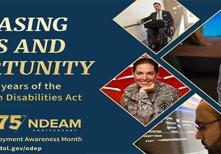 DNMM Joins Broad Effort Observing National Disability Employment Awareness Month