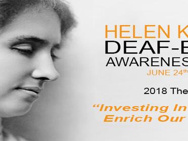 Deaf-Blind Awareness Week