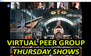 a Link to Virtual Peer Group Thursday Shows