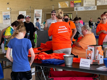 Over 350 Attend Community Event Celebrating Americans with Disabilities Act