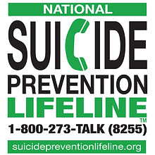 suicide preventio hotline 1-800-273-8255