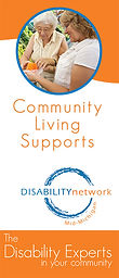 community living supports brochre cover page