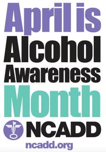 April is Alcohol Awareness Month logo