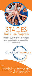 Stages Brochue cover page