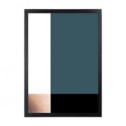 colour-block-art-print-framed-poster-tea