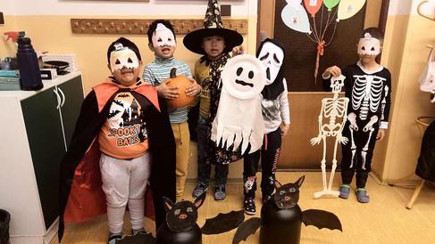 Halloweenský den v přípravné třídě