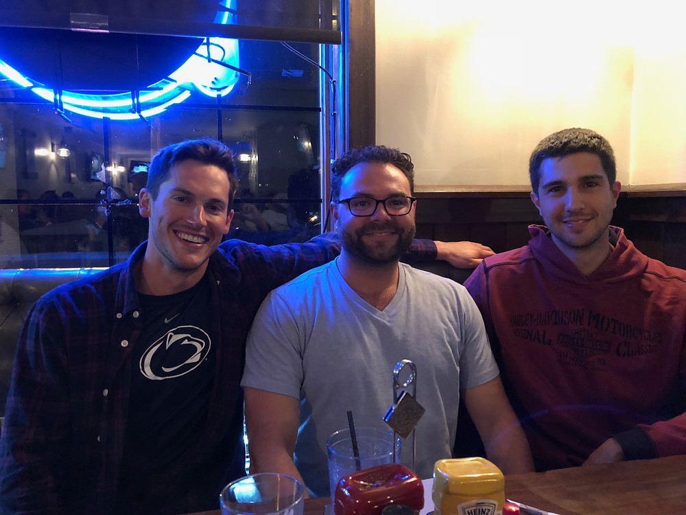 Ben, Bake and Chad