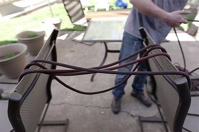 將主繩攤平陰乾,避免因長時間承受重量而影響其結構與性能