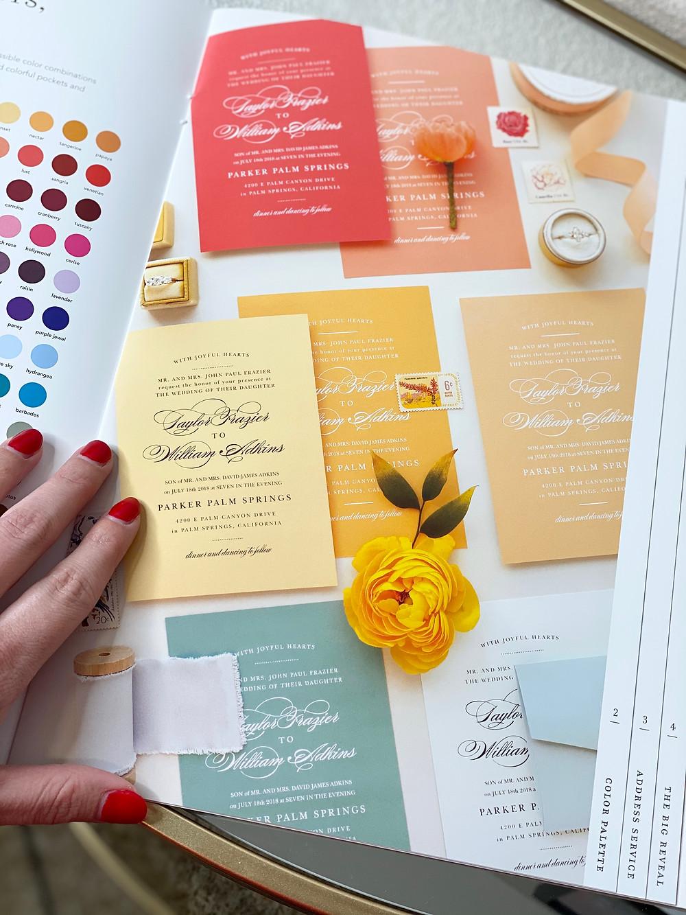 Basic Invite, Custom Wedding Invitation, Events With Becca