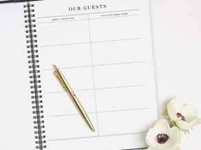 Did Someone Say Custom Wedding Guestbooks? | Basic Invite Part 2