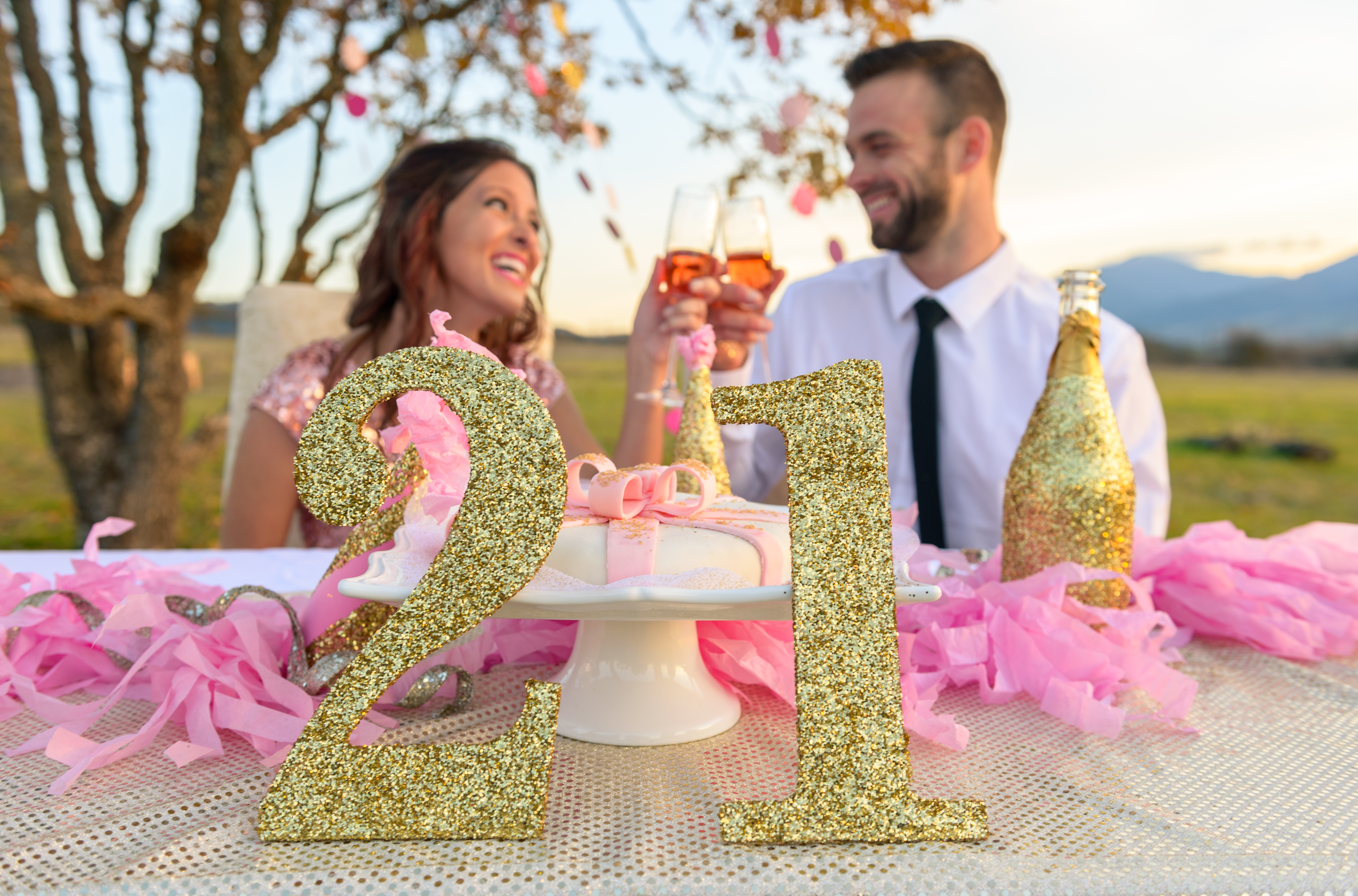 21st Birthday - Styled Shoot