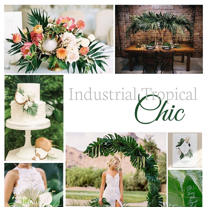 Industrial Tropical Chic Styled Shoot Out