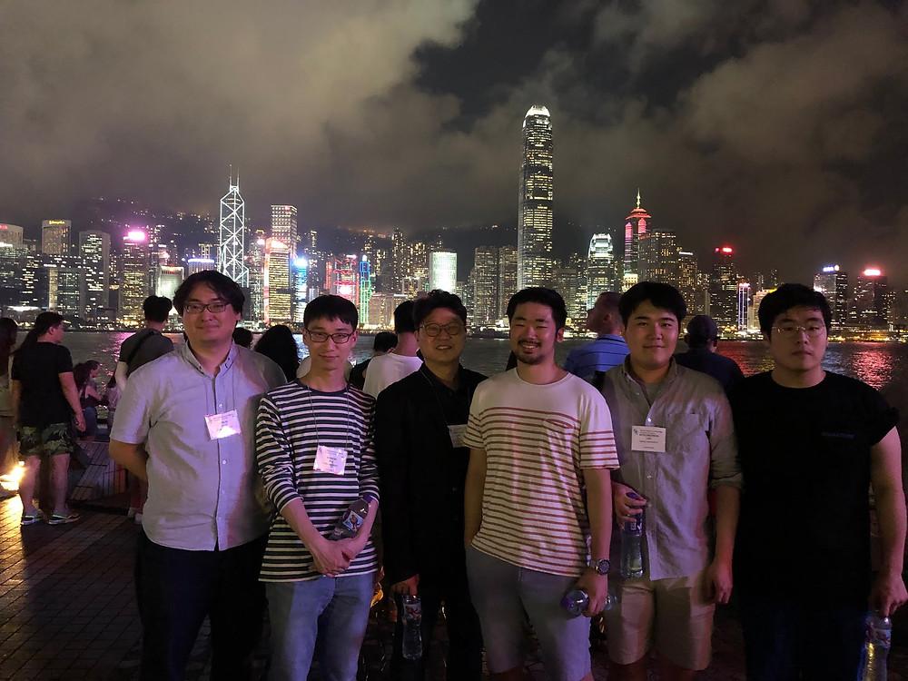 Group Photo in Hongkong