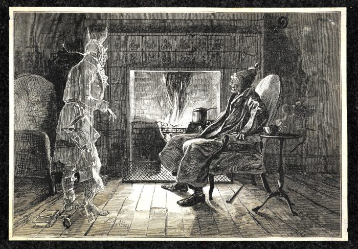 Marley's Ghost (A Christmas Carol by Charles Dickens)