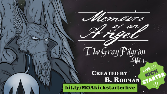 Memoirs of an Angel Kickstarter Launch