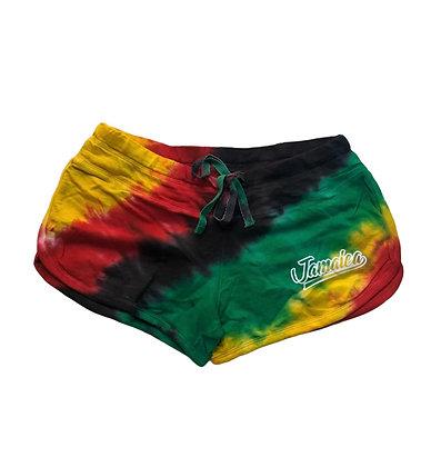Rasta tyedye Jamaica shorts