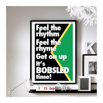 Cool Runnings ('Jamaican Bobsled Team') art print