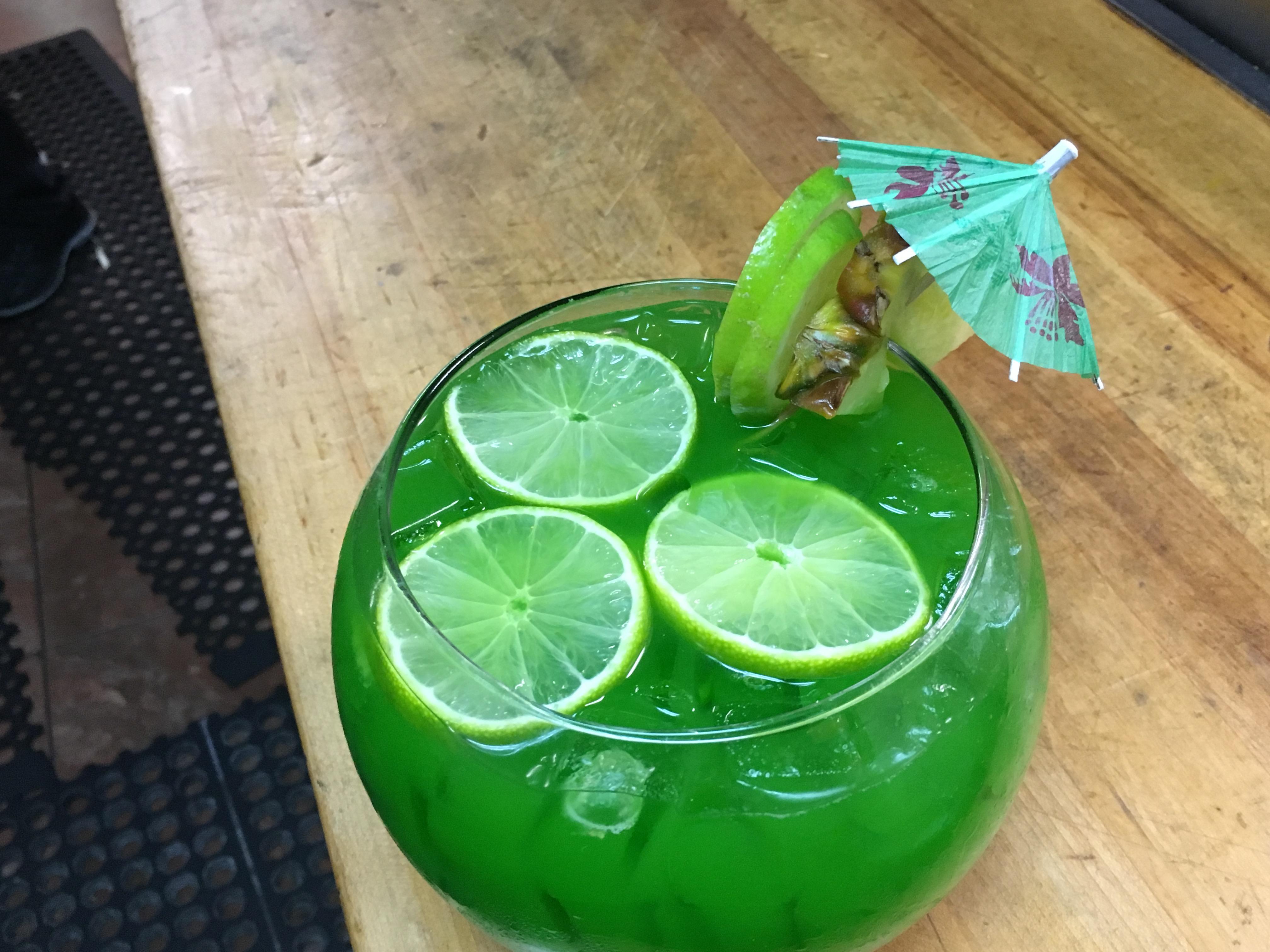 Jungle Juice Fish Bowl