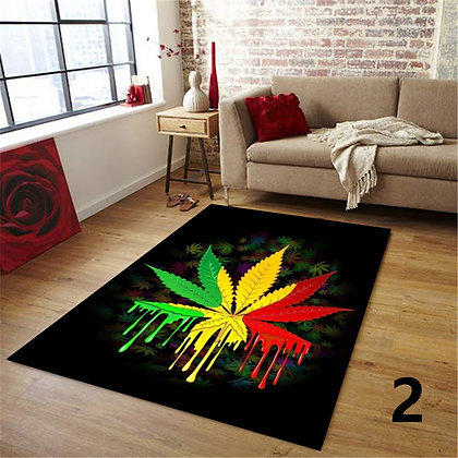 Bob Marley Reggae Music Decorative Rug Jamaican Style Rug Musical Rug Living Ro
