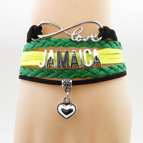 Infinity Love Jamaica Bracelet Handmade Fashion