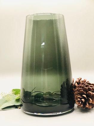 Vase en verre haut