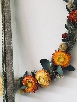 Cerceau de fleurs sechées 16