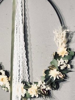 Cerceau de fleurs sechées 9