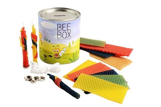 BEE BOX | קופת חסכון וערכת יצירה לנרות דונג