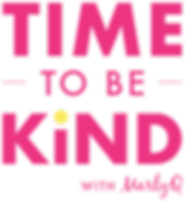 Time to be Kind Podcast Logo (Magenta).p
