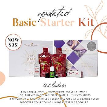 Young Living Basic Stater Kit Joyful Wor