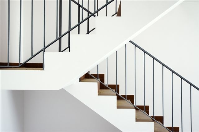 geometric angles on staircase