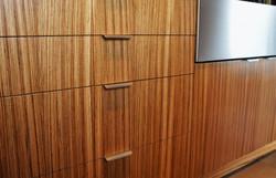 sophisticated wood panels