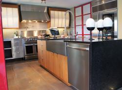 industrial contemporary kitchen