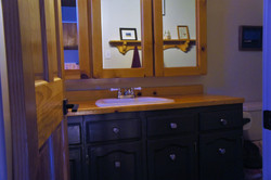 classic country bathroom