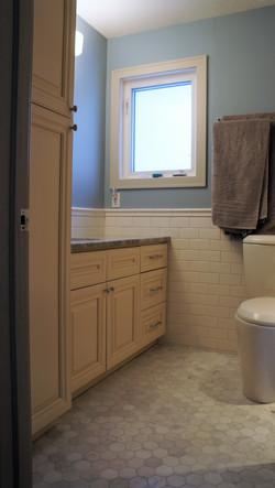 clean and efficient bathroom