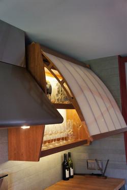 contemporary high-tech kitchen