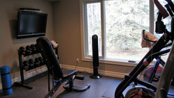 bright exercise room