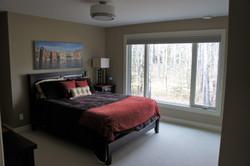 master bedroom window wall