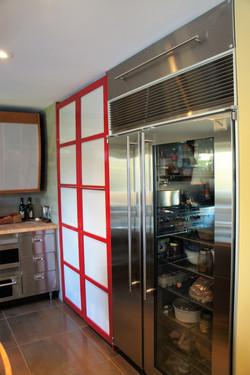 kitchen pantry barn door